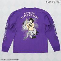 Lupin III the Third Goemon Ishikawa T-shirt Long Sleeve Purple Japan Cosplay
