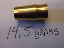 10pc Golf Iron Ferrules Metal Custom Brass 14.5g, 355/370 Shafts, Made in U.S.A