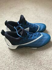 Addidas Cozy light Mens Trainers,basketball, Siz10.5, Blue and silver, Brand New