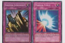 YUGIOH   Dark Beginnings 2 Part set Cards Very Good Condition 246 cards