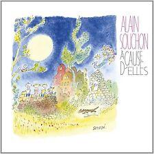 Alain Souchon – À Cause d'Elles (2011)  CD  NEW/SEALED  SPEEDYPOST