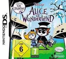 NINTENDO DS Dsi Lite Disneys ALICE IM WUNDERLAND *DEUTSCH  Top Zustand