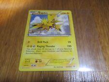 Carte Pokémon Rare ANGLAISE Zapdos 120 PV 23/108 TBE (Electhor)
