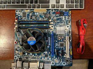 Intel Desktop Board Motherboard COMBO DH67BL i7 CPU 4GB DDR3 LGA1155 mATX RAID