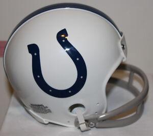 1967 Johnny Unitas Baltimore Colts Custom Throwback Riddell Mini Helmet
