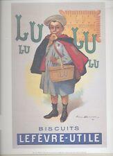 Affiche Affichette 24x30 cm Lu écolier Poster 51103