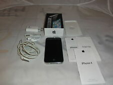 Apple iPhone 4 16gb Negro OVP, Apple intercambio dispositivo, Unlocked Pincho de fábrica, garantía