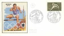 PREMIER JOUR J.O. OLYMPIQUE DE MUNICH PARIS 1972 SPORT