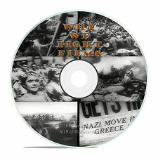 WHY WE FIGHT, WORLD WAR II, WWII, FILMS, DIVIDE AND CONQUER, CHINA 3 DVD'S -J17