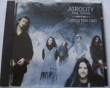 ATROCITY   __   CALLING THE RAIN   __  8 Track CD ALBUM  __  1995 SWAN LAKE