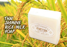 Big Sale Jasmine Rice Milk Soap Thai Herbal Whitening Natural Body Face Acne