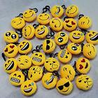 Mini Emoji Smiley Emoticon Soft Stuffed Plush Toy Key Chain Clip Popular