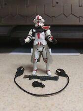 Star Wars Clone Commander Deviss Hasbro 2004 3.75 Action Figure