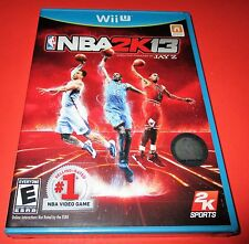 NBA 2K13 Nintendo Wii U *Factory Sealed! *Free Shipping!