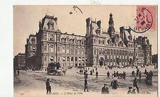 BF11608 l hotel de ville chariot  paris france  front/back image