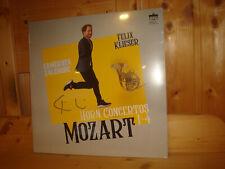 FELIX KLIESER Mozart Horn Concertos BERLIN CLASSICS LP NEW Signed NEU Signiert