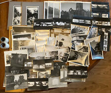 Large Collection Vintage Black and White Photographs 1930s-1950s People & Places
