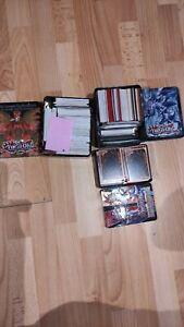 3x Tin Boxen mit Yu-Gi-Oh Karten. (Dachbodenfund)