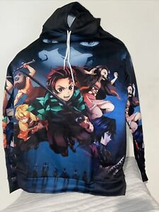 Demon Slayer Kimetsu no Yaiba Cosplay Hoodie Causal Sweater Pullover Sweatshirt