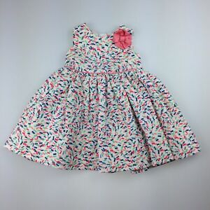 Girls size 00, John Lewis, lined summer / party dress, GUC
