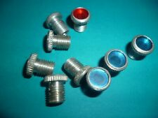JAWA CZ 125 175 250 350 CHARGE AND MAIN BEAM WARNING LIGHTS SCREW TYPE BLUE