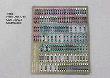 Dreammodel 1/350 Color PE PLA NAVY Flight Deck Crew 350003