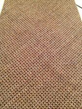 VINTAGE KEYNOTE TIE Brown Tan Checks Acrylic Textured Made In UK