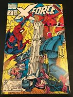 X-Force #4 (1991) NM+ 3rd Appearance DEADPOOL With Spider-man And Cable