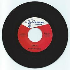 SOUL 45 THE MANHATTANS CAN I  ON CARNIVAL  STRONG VG  2ND PRESS