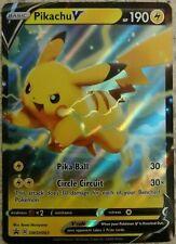 ULTRA RARE Pikachu V SWSH063 Pokemon Black Star Promo Holo Foil Holographic - NM