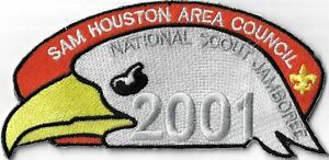 Sam Houston Area Council JSP 2001 National Jamboree BLK Bdr. [MX-7977]
