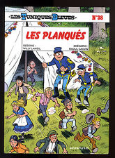 TUNIQUES BLEUES T 38   LES PLANQUES    LAMBIL / CAUVIN     EO