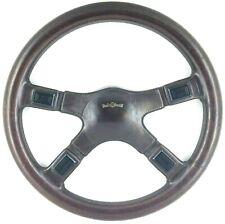 Genuine Italvolanti Prestige 370mm Brown leather steering wheel. Classic.     8A
