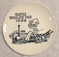 "1962 Seattle World's Fair 10.5"" plate mid century modern MCM Space Needle"