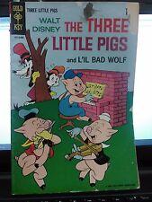 Gold Key Comics Walt Disney The Three Little Pigs And Lil Bad Wolf No.2 (2)