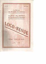LOCO REVUE N°59 CHEMIN DE FER DU MONT BLANC / RESEAU AUTO-ELECTRIQUE / 141 R