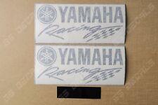 2x Yamaha Racing Premium Cast Decals Stickers YZF R1 R3 R6 FJR MT XT    200mm