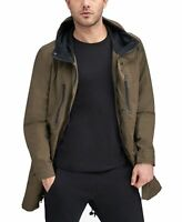 Marc New York Mens Jacket Green Size Large L Anorak Hood Quinn Fishtail $165 193