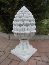 Pinienzapfen XXL, Pfeilerspitze, H.70 cm, Skulptur, Gartendeko, Pfeilerschmuck