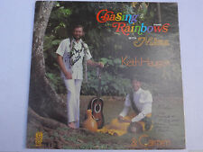 Keith & Carmen Haugen ‎– Chasing Rainbows With Māua LP, US, SIGNED