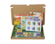 Dinosaur Personalised Goody Box Boys Birthday Gift Christmas Dinosaurs 6 Items