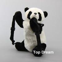 Lovely Plush Panda Backpack Kids Schoolbag Travel Shoulder Bag Birthday Gift New