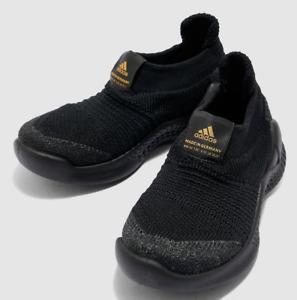 Boys Adidas Rapidabounce+ Sock Kids Training Sneakers Black Size 12 12K G27371