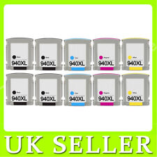 10 Compatible 940XL Set Ink for HP Officejet Pro 8500A 8500 8500A Plus e-AIO