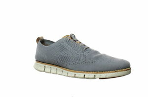 Cole Haan Mens Zerogrand Stitchlite Ironstone/Ivory Wing Tips Size 11 (1452652)