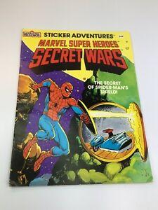 Sticker Adventurers Marvel Super Heroes Secret Wars new stickers