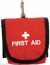 "Tree Climbers First Aid Bag, Measures 4"" W x 5 1/2"" H x 1 1/2"" D,Made In The Usa"