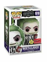 Funko Pop Vinyl Beetlejuice #1010 - NYCC 2020 Shared Sticker In Hand