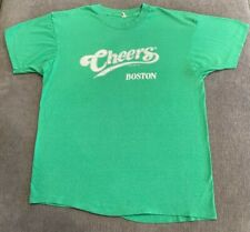 New listing Vintage 1987 Cheers Boston T-Shirt Men'S Medium M Single-Stitch Soft 80s Tv Mens