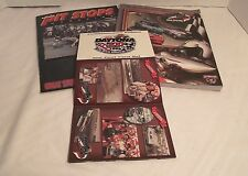 NASCAR 1998 Daytona 500 40th Program, Commemorative Patch,& Post Card Set